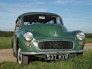 Morris Minor Traveller 1963